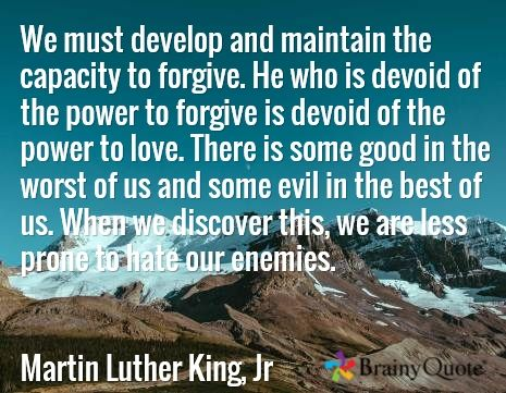 Martin Luther King Jr Quotes Quotes About Forgiveness
