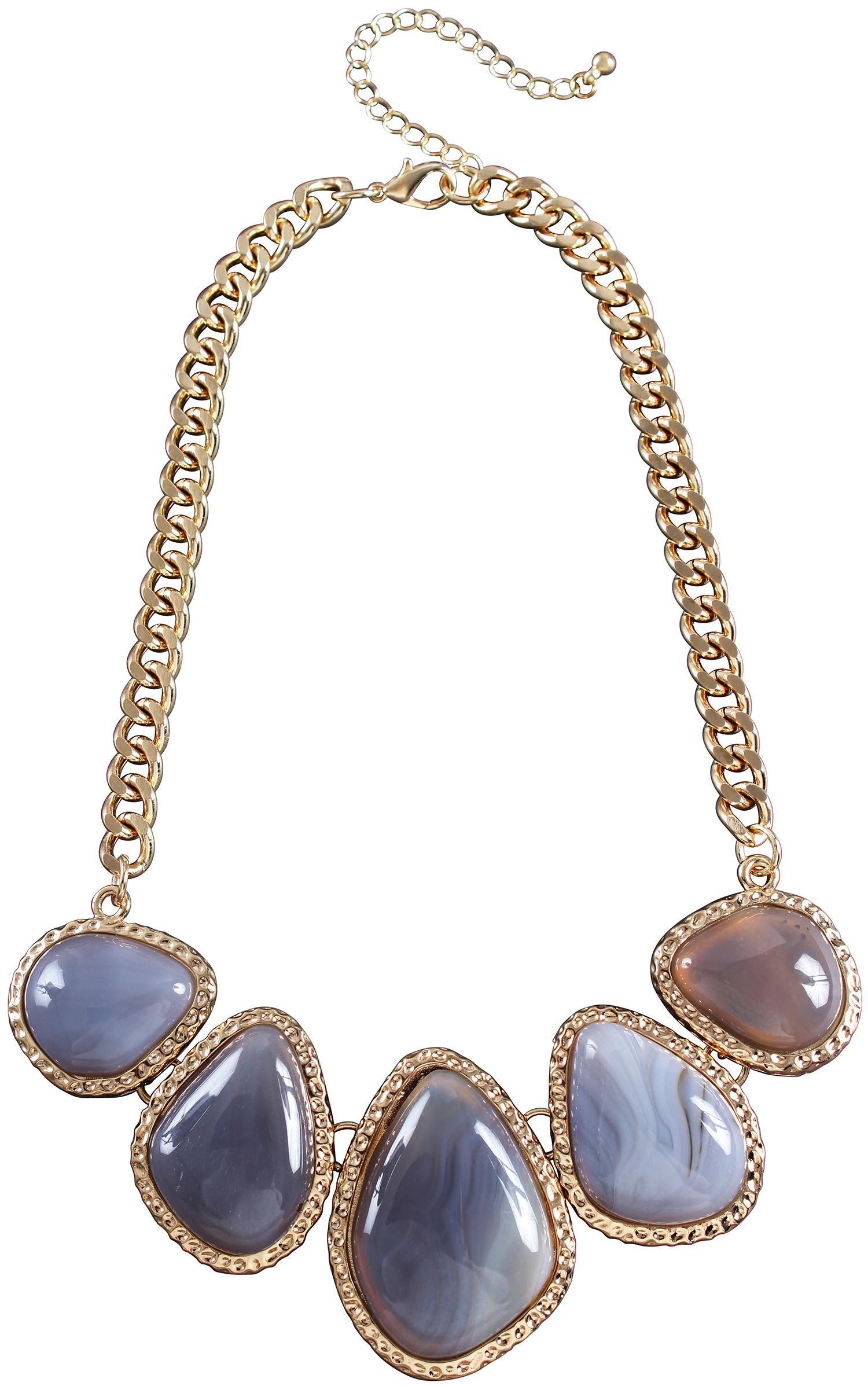 Collana - Agate Stones
