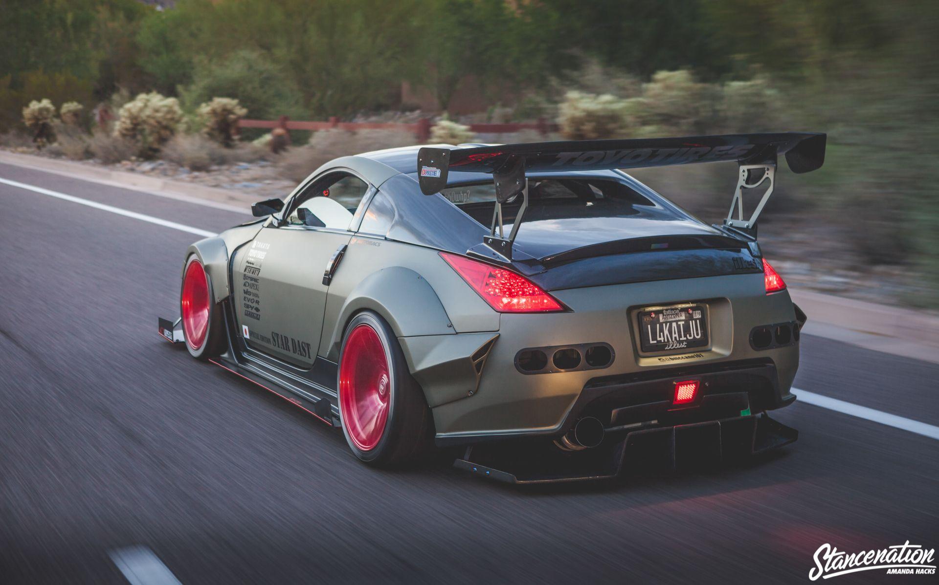 23 Rear Wing Spoiler Ideas Spoiler Custom Cars Nissan 350z