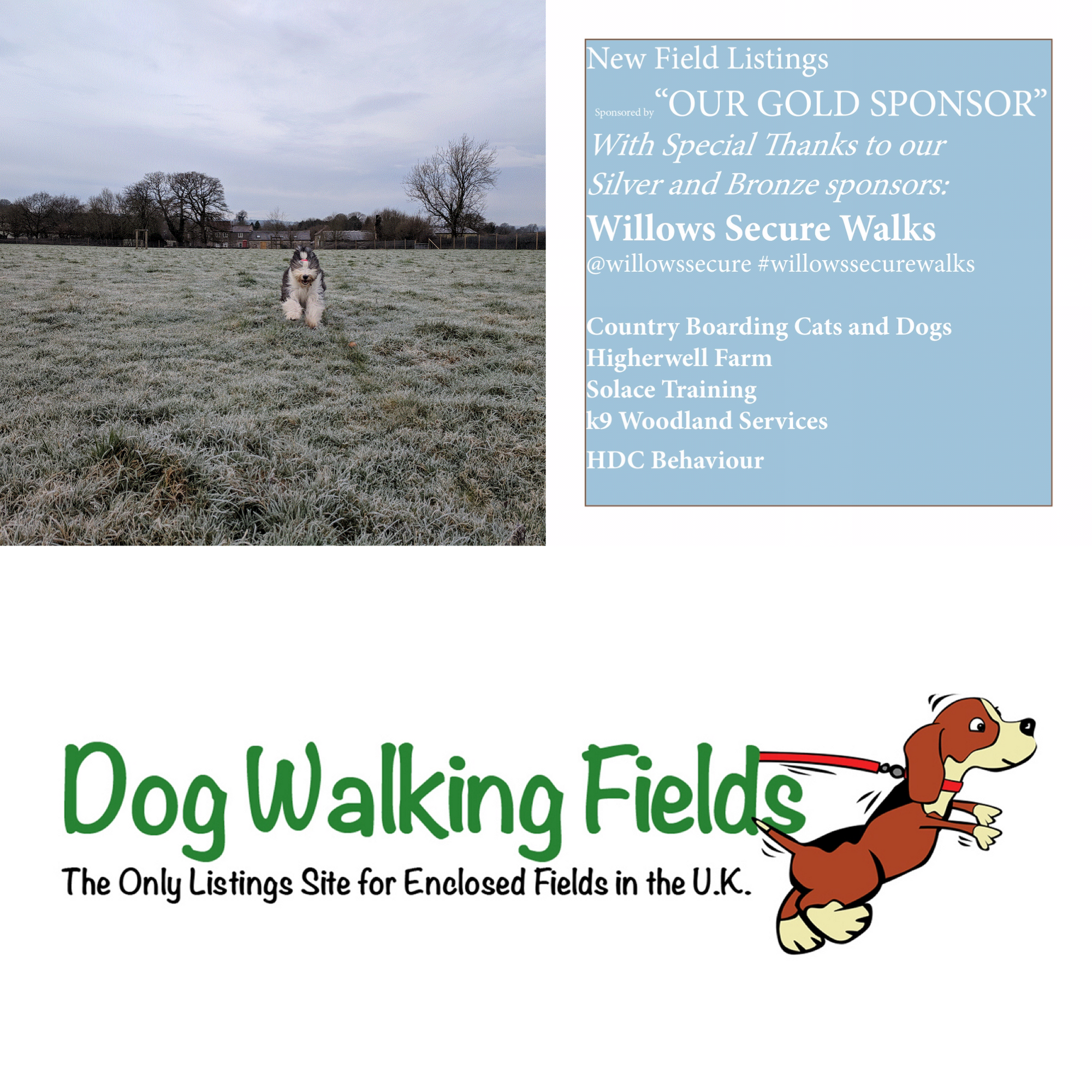 Fenton S Field Manor House Farm Stoke St Michael Radstock Somerset Ba3 5ld Secure Dog Exercise Field In Somerse Dog Kennel Cover Dog Walking Dog Exercise
