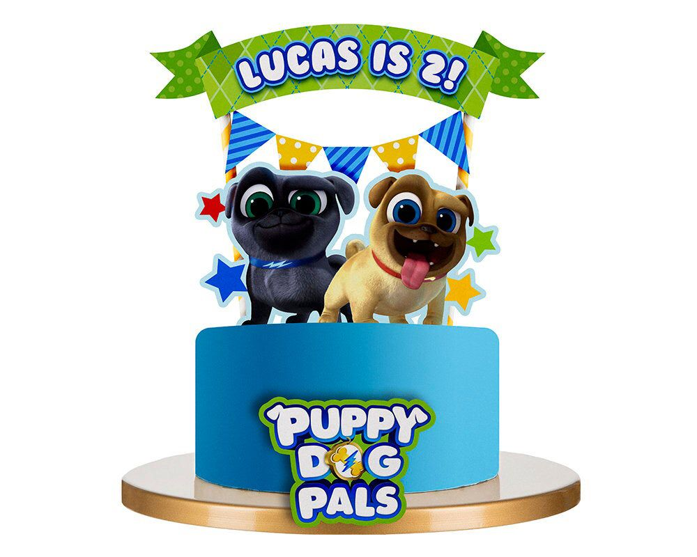 Puppy dog pals cake toppers by soprettyincolor on etsy