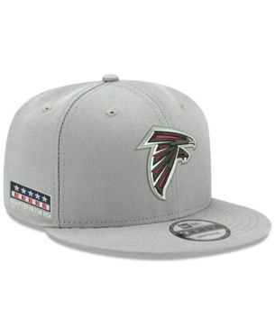 best sneakers 6cab1 2decc New Era Atlanta Falcons Crafted in the Usa 9FIFTY Snapback Cap - Gray  Adjustable