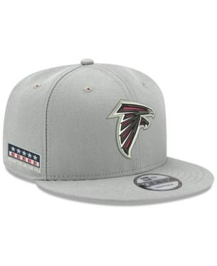 3dba041955e6e New Era Atlanta Falcons Crafted in the Usa 9FIFTY Snapback Cap - Gray  Adjustable