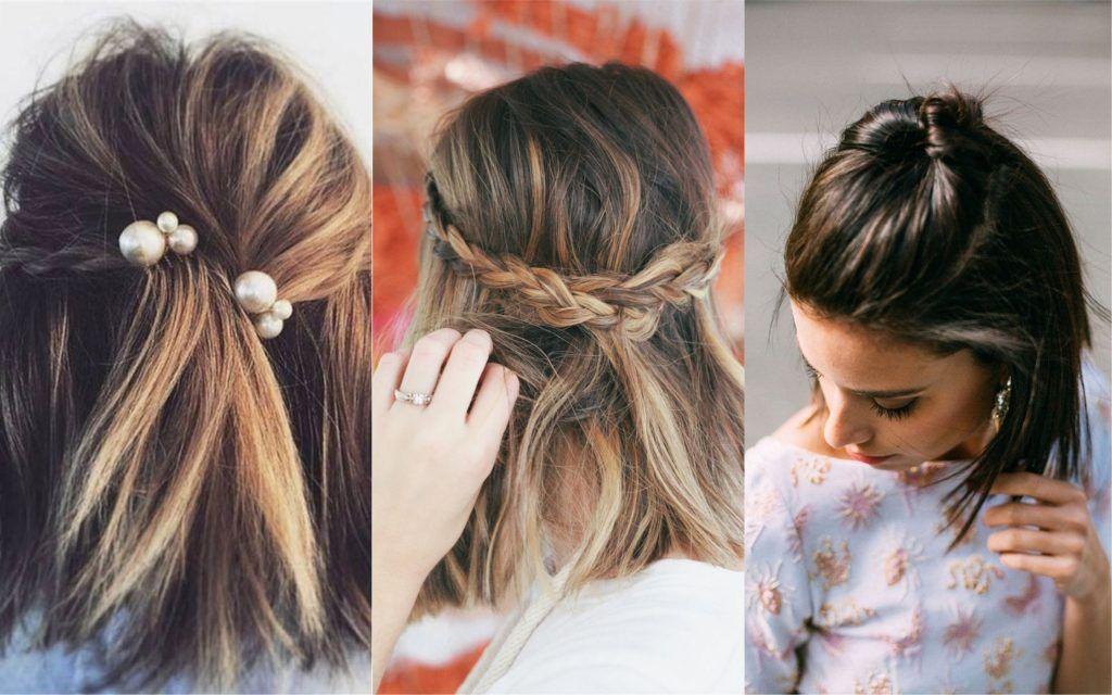 Peinados Para Bodas 77 Hermosas Ideas Para Novias E Invitadas Fotos Peinados Para Boda Peinado Boda De Dia Peinados