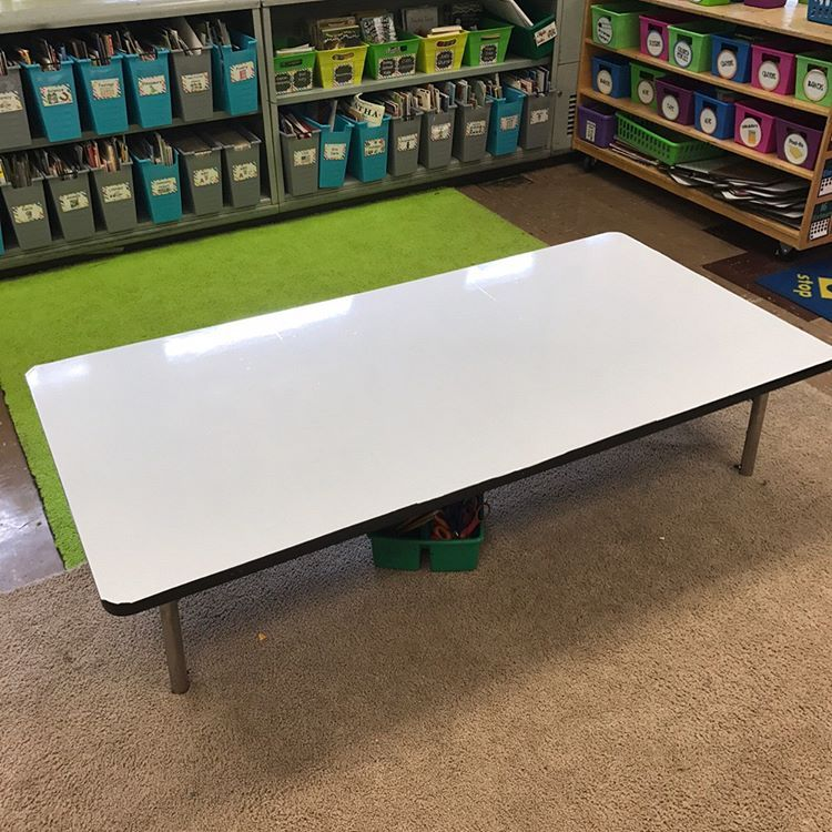 Turn A Table Into Dry Erase I