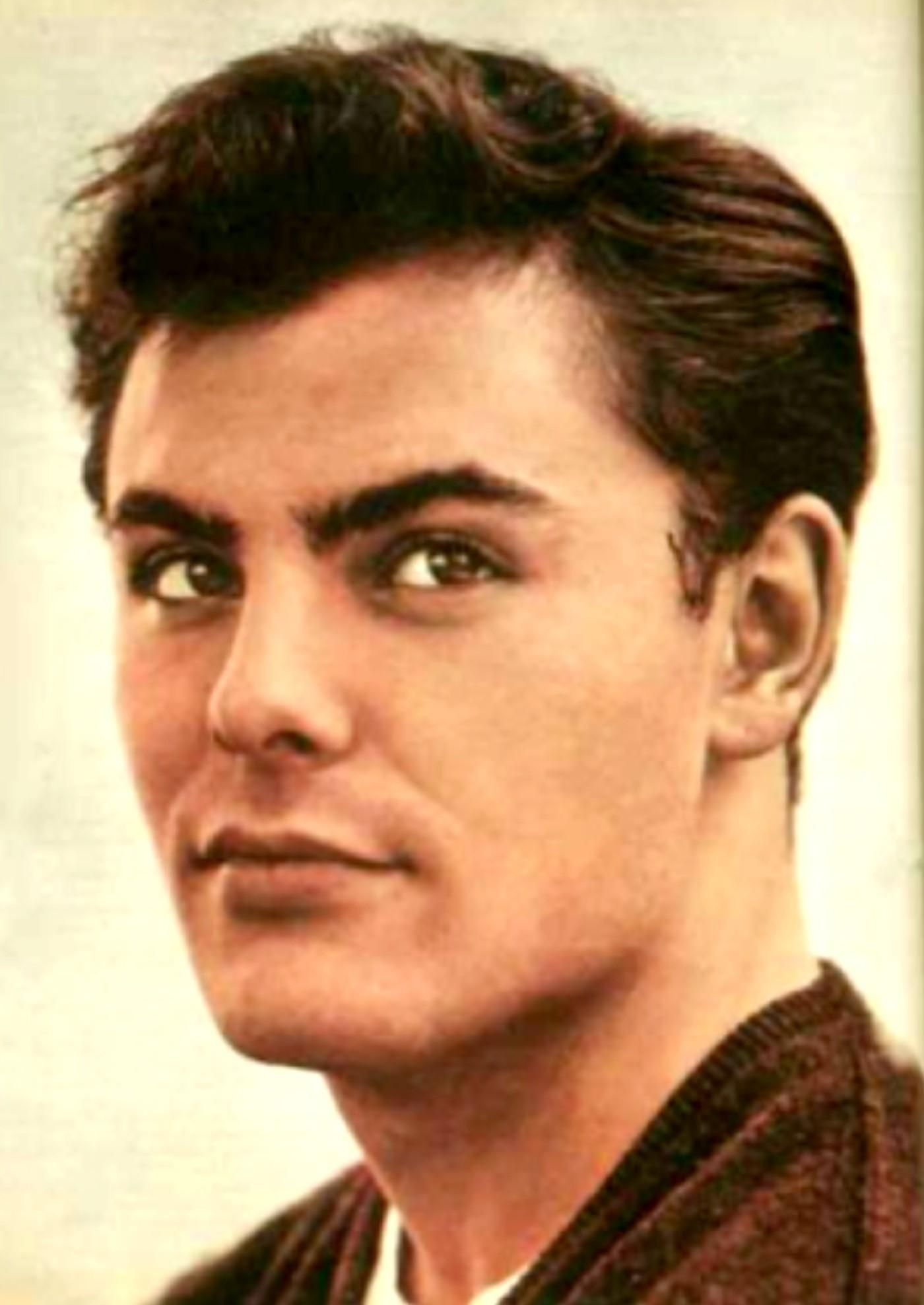 john saxon a new handsome young movie star in 1956 his