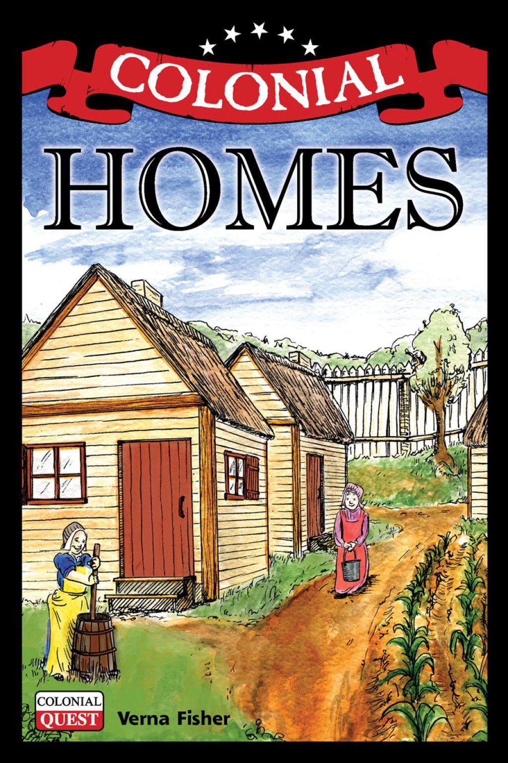Colonial Homes Ebook