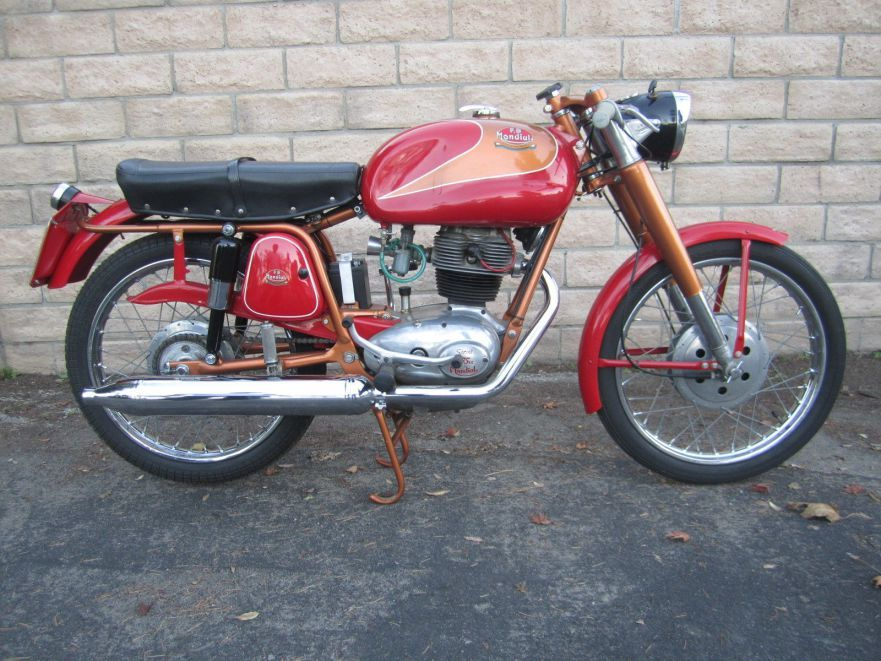 1958 Mondial Sprint 175 Vintage Motorcycle Motorcycle Cafe Racer