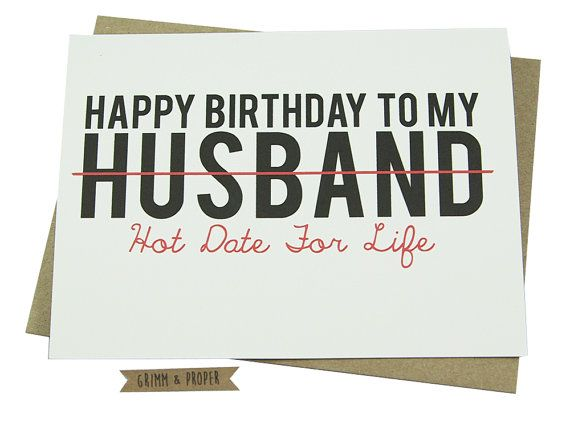 Loving Birthday Card for Your Stud Muffin Husband This card is – Birthday Cards Printed