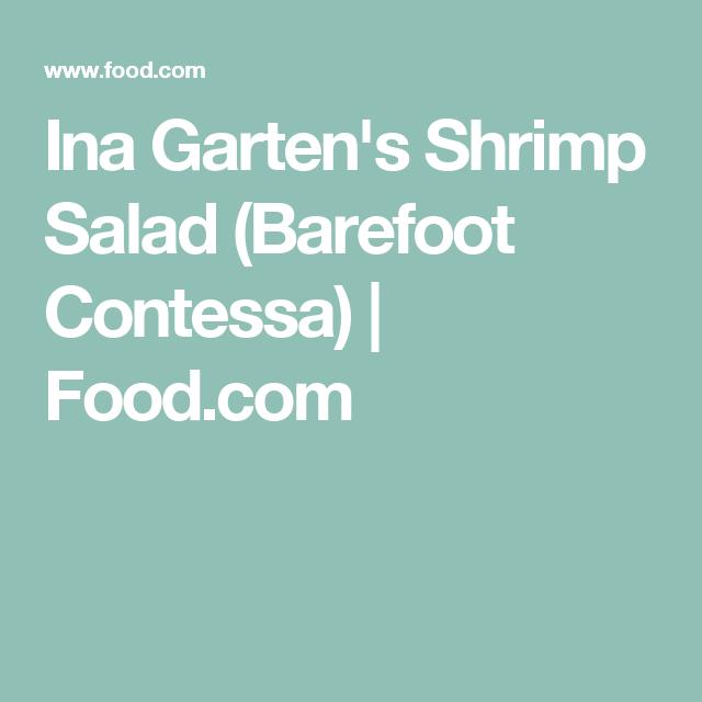 ina gartens shrimp salad barefoot contessa foodcom - Ina Garten Shrimp Salad Recipe