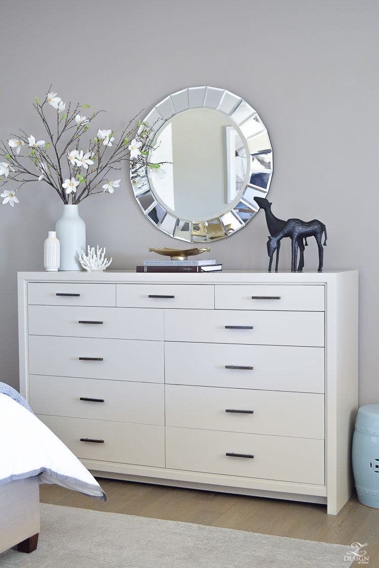 5 Tips For A Spring Refresh In The Master Suite Dresser Decor