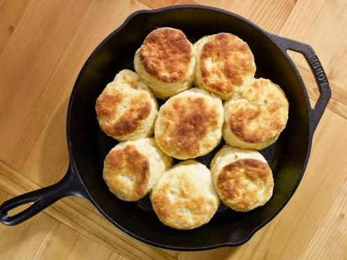 The Kitchen Jeff Mauro grapevine ky buttermilk biscuits (perfect plate of summer) - jeff
