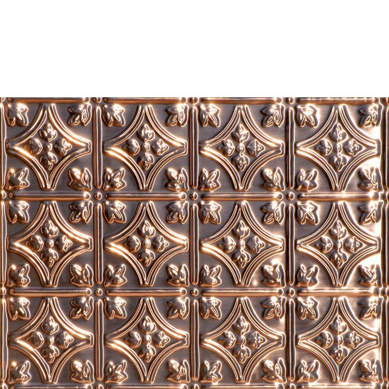 Princess Victoria Copper Backsplash Tile 0604 Copper