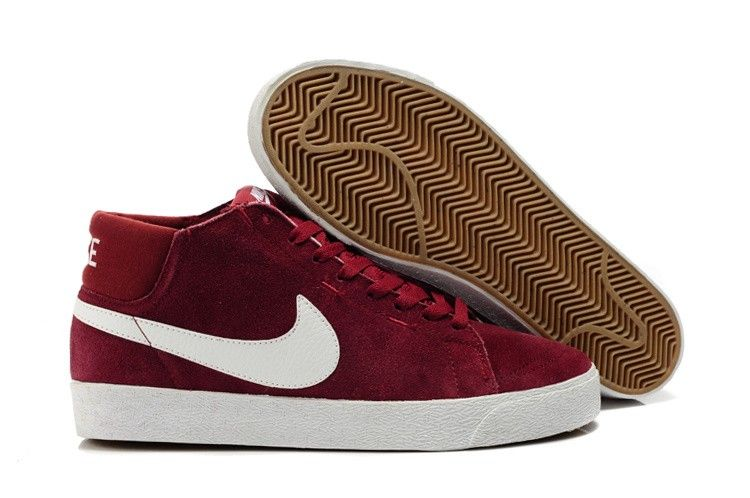 nike blazers low top red vans