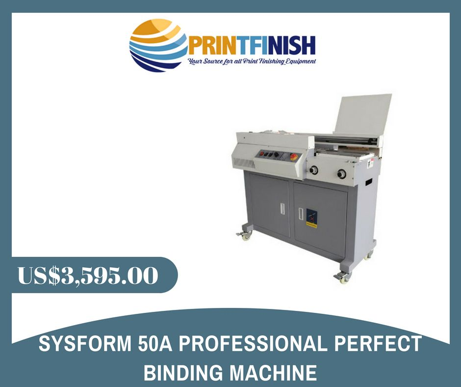 Sysform 50A Professional Perfect Binding Machine