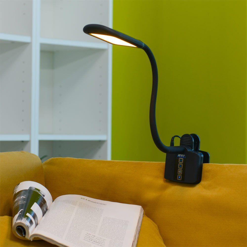 Recensione Annt STY-912 la lampada LED snodabile con pinza che ricarica lo smartphone