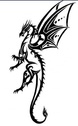 Dragon By Tribalchick101 Deviantart Com On Deviantart Goruntuler Ile Ejderhalar Dovme Fikirleri Dovme
