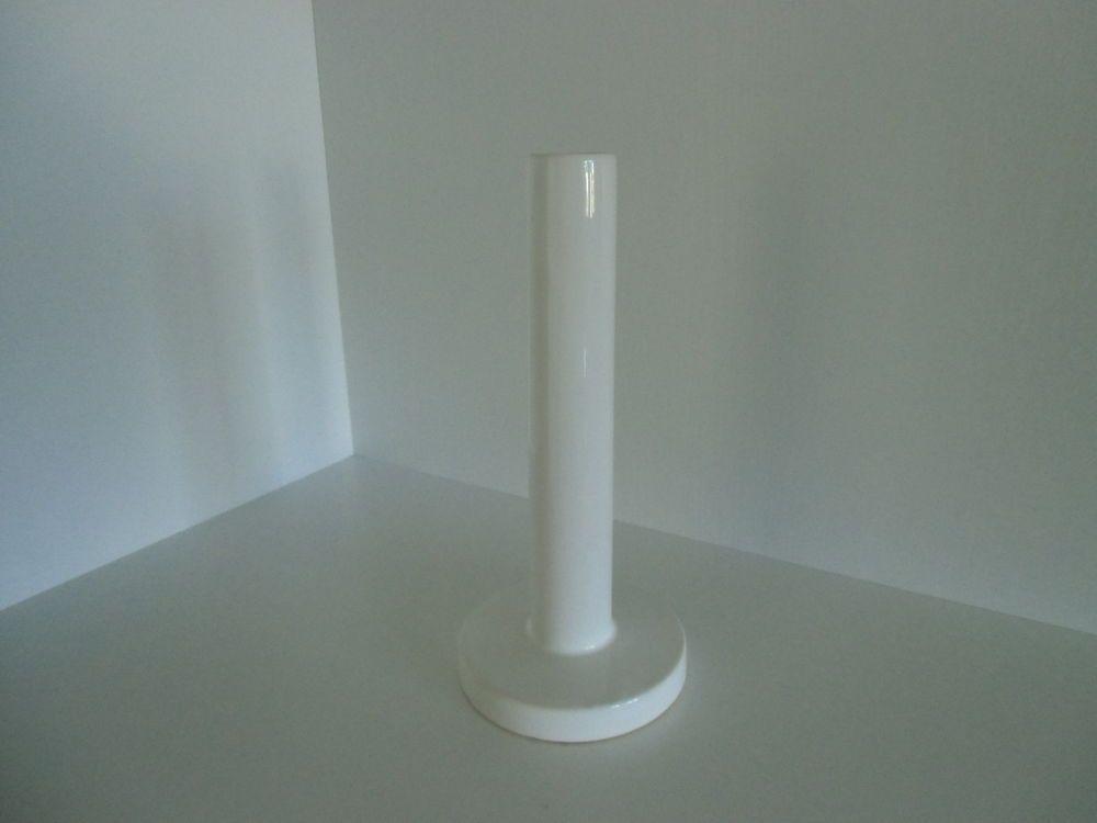 Blumenvase, Dekovase,  weiß, ca. 15 cm hoch