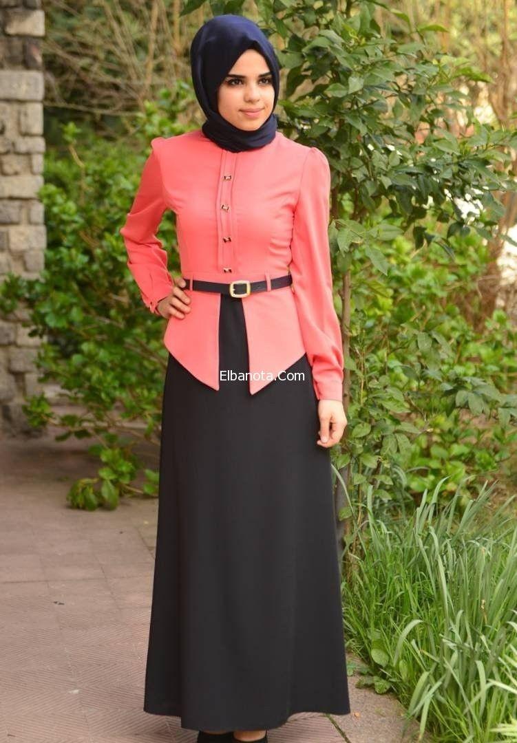 ملابس محجبات تركية 2014 موضة ملابس محجبات كاجوال لبس محجبات تركي موضة بنوته أزياء بنوته بنوته كافيه Hijab Fashion Fashion Dresses