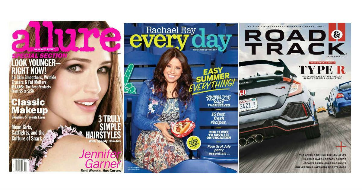 0 99 Magazine Subscriptions Over 50 To Choose From Calling All