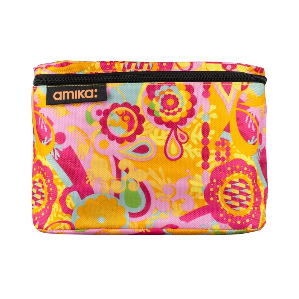 amika Signature Zip Cosmetic Bag RRP 19.95 Zip