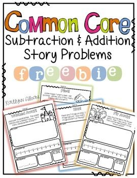 Story Problem FREEBIE | math night | Pinterest | Rechnen, Mathematik ...