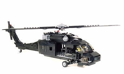 Custom Army Black Hawk Helicopter Military UH-60 minigun made with real LEGO®    eBay -  Picture 4 of 6  - #Army #black #Custom #eBay #Hawk #Helicopter #helicopterluxury #helicoptermilitary #helicopterprivate #LEGO #Military #minigun #Real #UH60