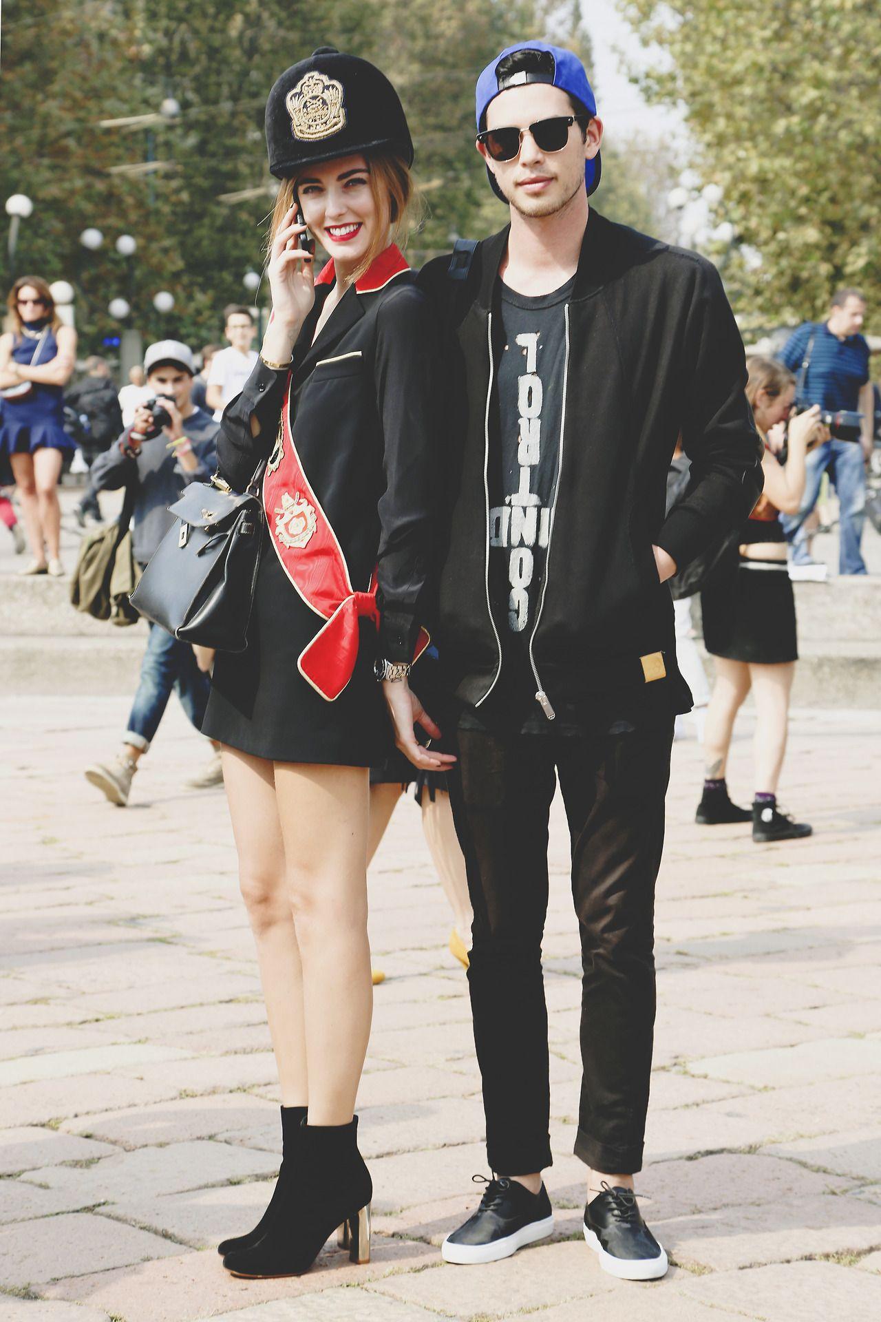 11 Fashion Bloggers With The Cutest Boyfriends Fashion Fashion Blogger Fashion Couple