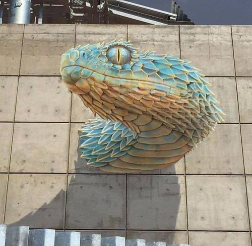 Amazing 3d mural by john pugh