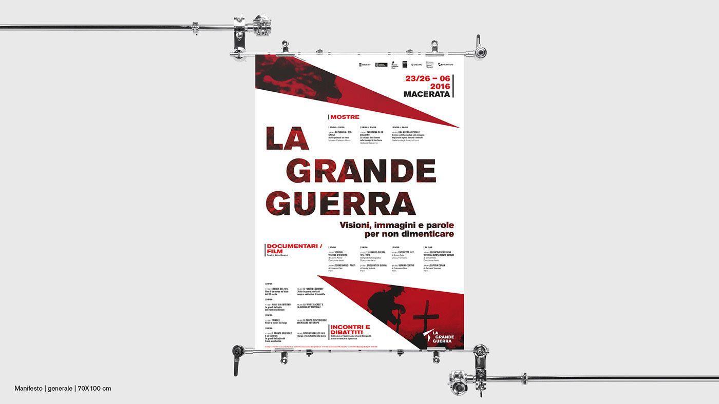 Pin Di Andrea Veramonti Su Graphic Designer Simple 9volts Nihmnicd Battery Charger Circuit Vedi Il Mio Progetto Behance Visual Identity La Grande Guerra Https