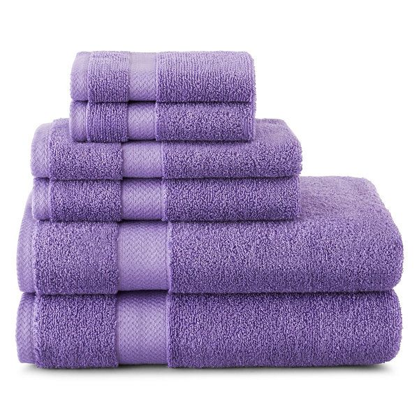 JCPenney Home™ 6-pc. Towel Set - JCPenney