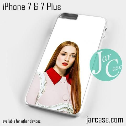 sophie turner 5 Phone case for iPhone 7 and 7 Plus