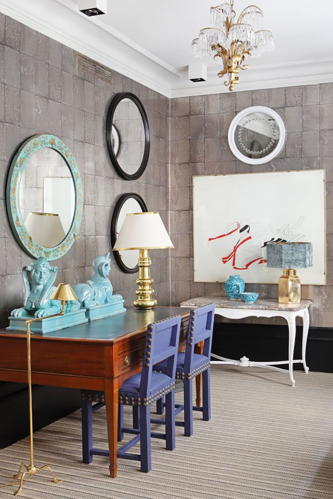 Glam It Up: Lorenzo Castillou0027s Madrid Showroom. Modern Office SpacesModern  OfficesWall ...