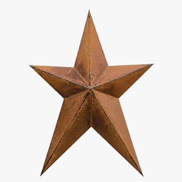 Cozycottage House: This Primitive Rusted Barn Star Is A Timeless Country