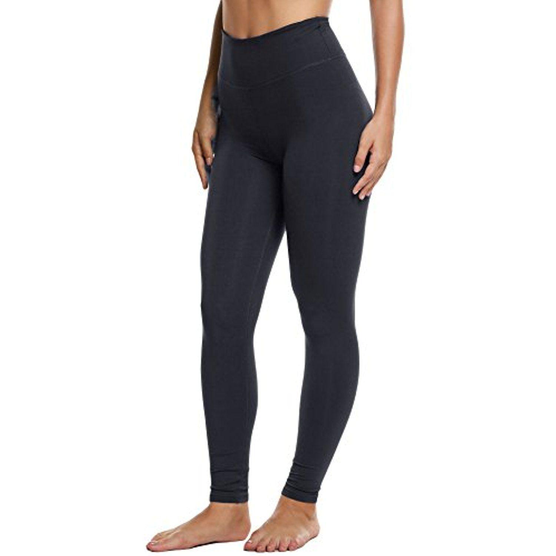 5096f67a109d4b Ekouaer Women's Yoga Pants Workout Leggings - High Waist Tummy Control w/  Pocket **
