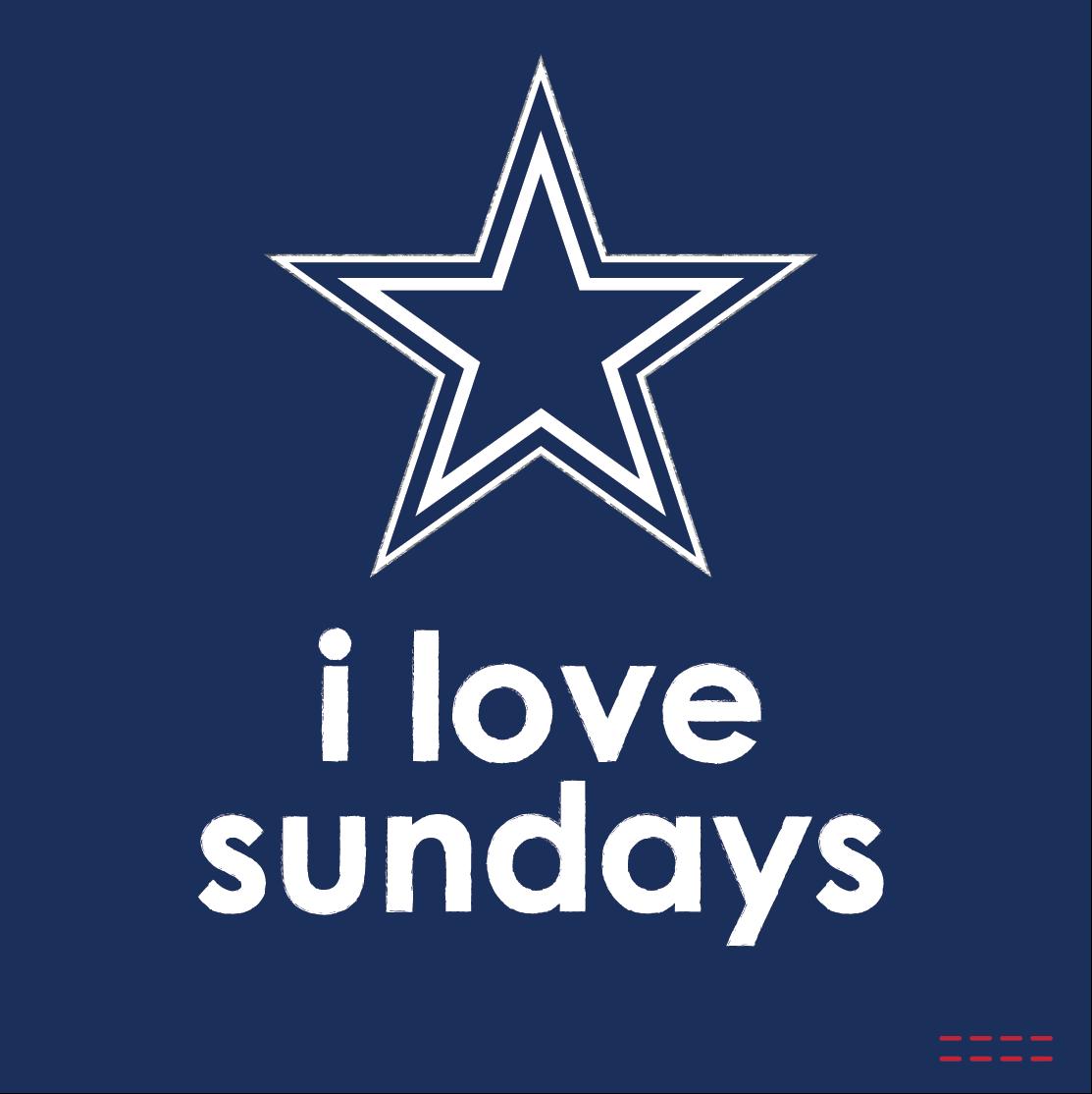 Sunday Night Football Quotes: I Love Sundays Dallas Cowboys