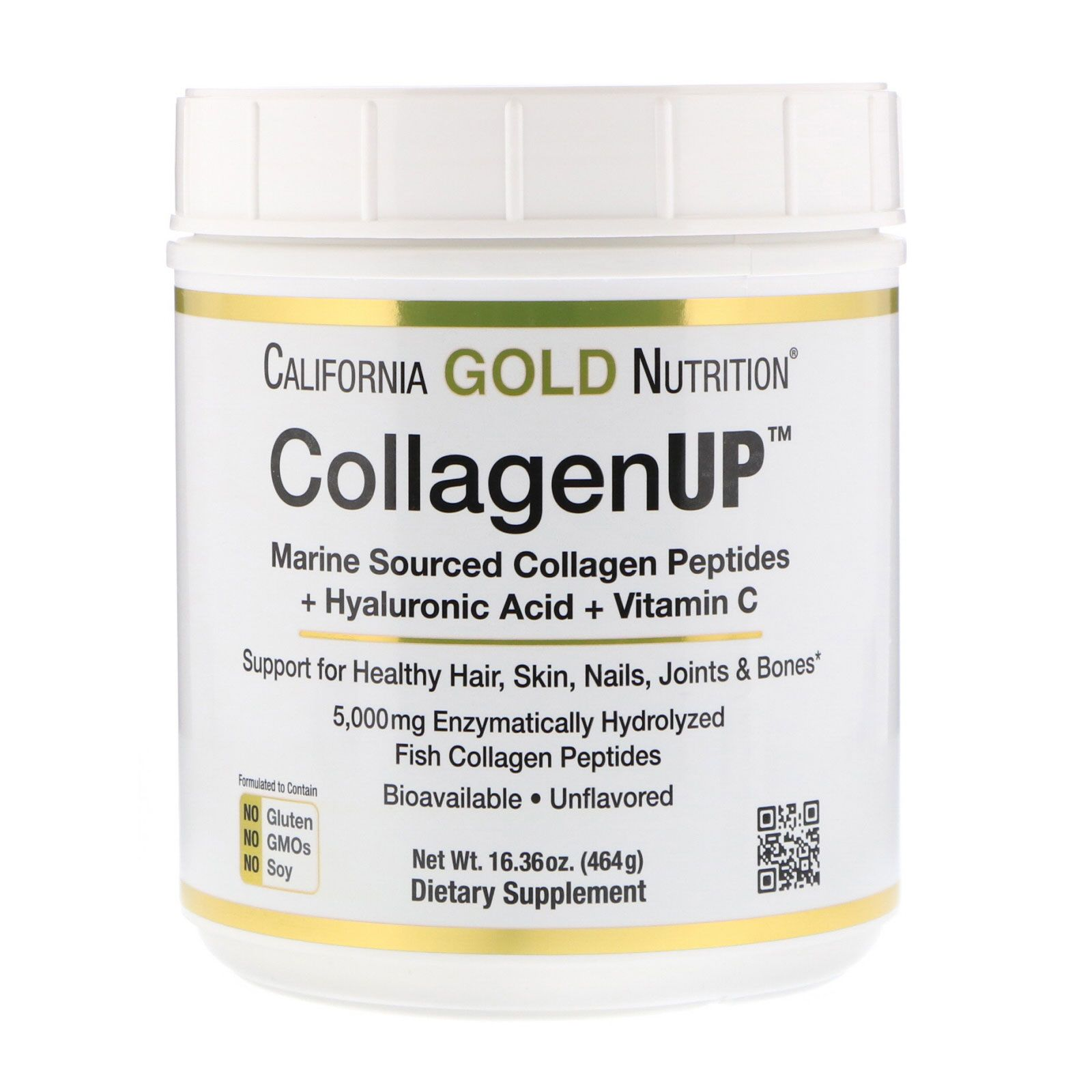 Natural Nutrition Collagen Gold (Marha kollagén por) (1kg) - Natural Nutrition - Tápkiegshop