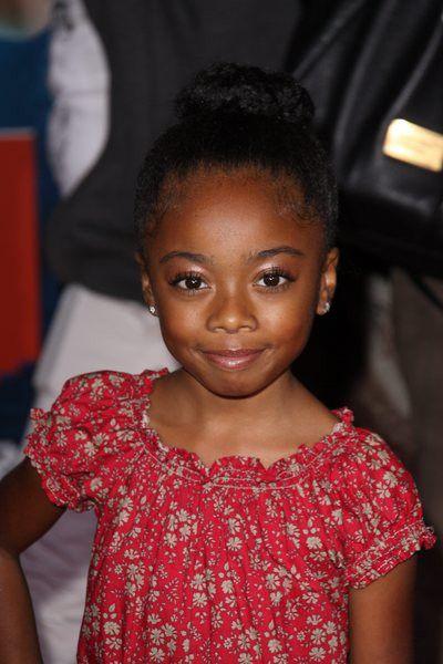 Actress Skai Jackson As Young Sylvia Skai Jackson Jackson Bonnie Wright