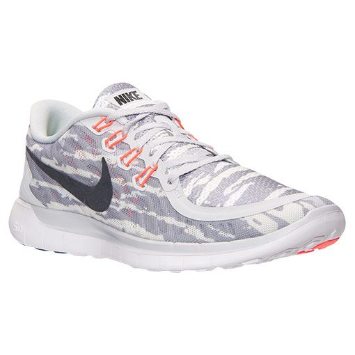 Men's Nike Free 5.0 Print Running Shoes - 749592 002 | Finish Line