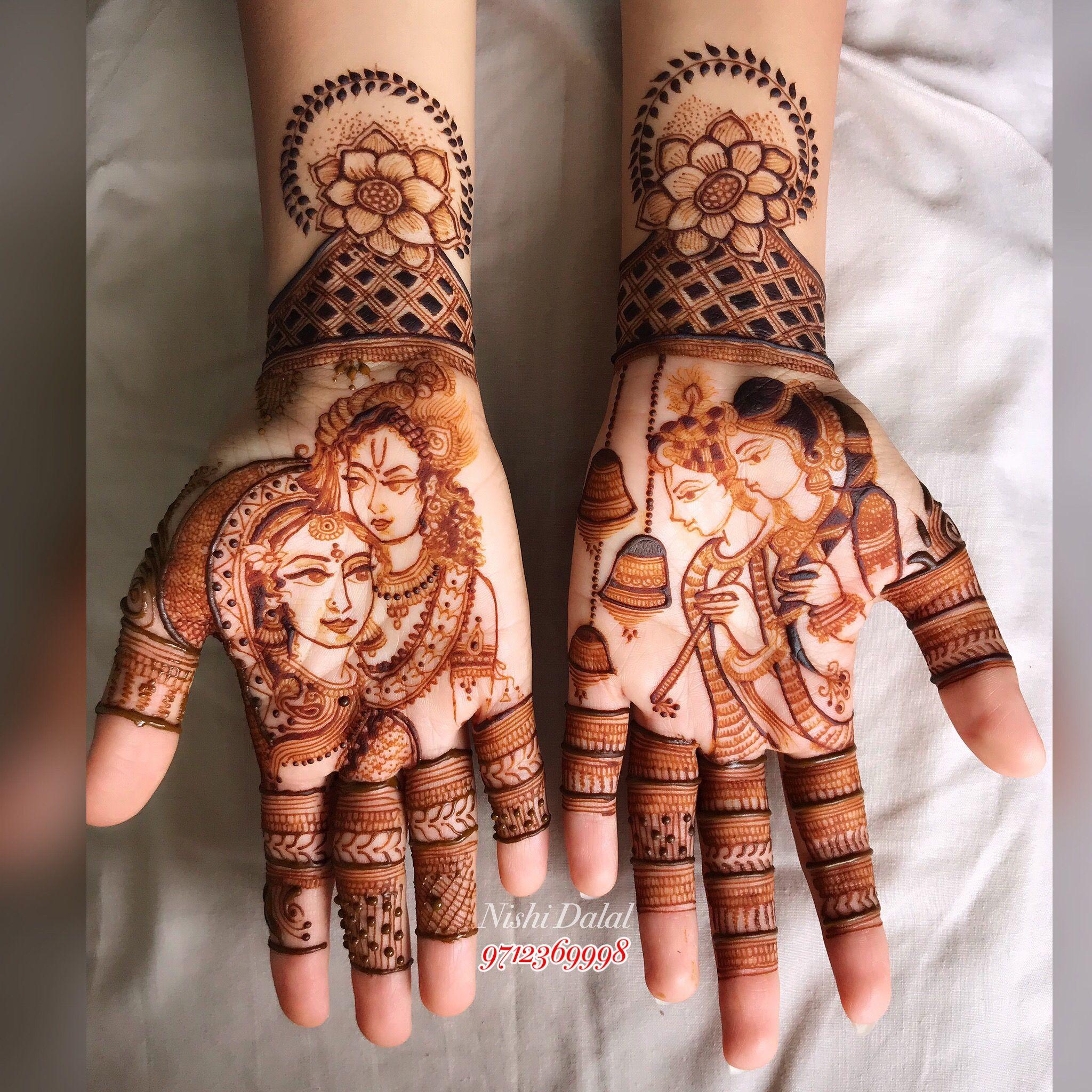 Pin by Foram Chauhan on Mehndi Bridal mehndi designs