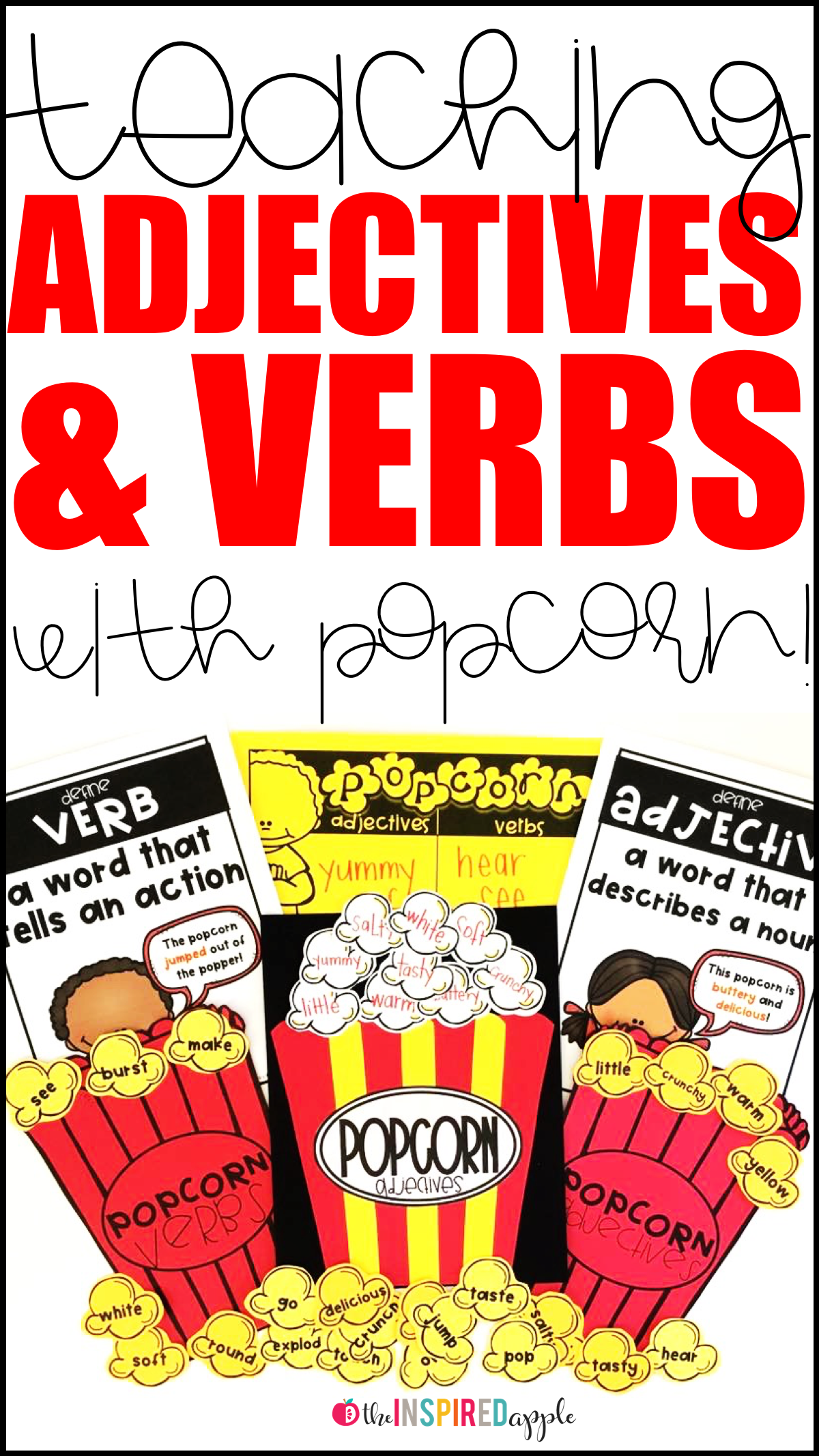 Teaching Adjectives And Verbs