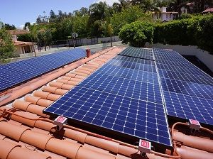Solar Panels On A Spanish Tile Roof In Palos Verdes Estates Solar Panels Solar Solar Companies