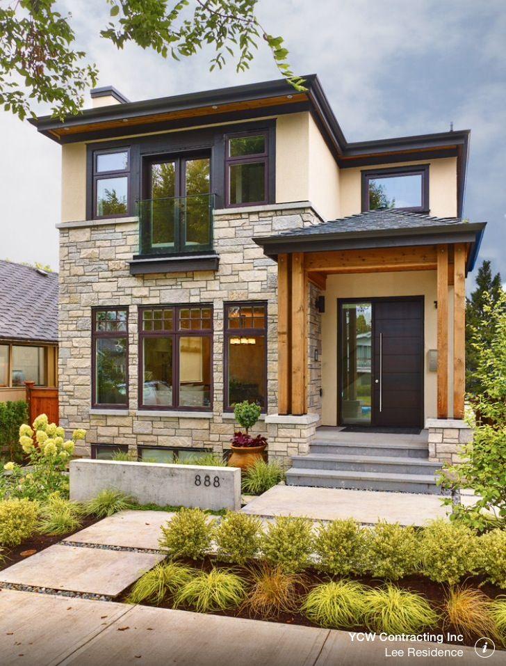 Pin By Smart Healthy Green Living On Casas Fachadas Rustic Houses Exterior Unique House Design Unique Houses