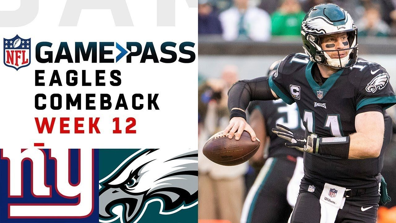 Every Play from Eagles Comeback vs. Giants NFL Condensed