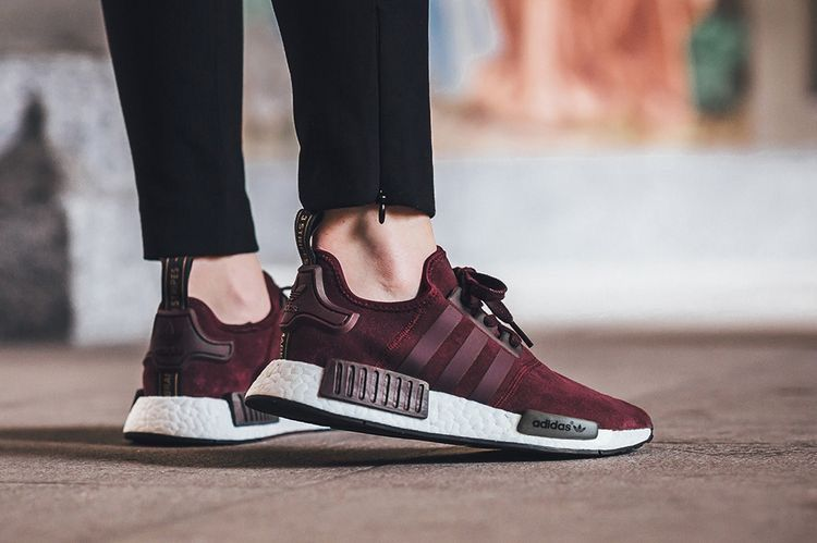 Shoe collection · adidas Originals NMD Burgundy