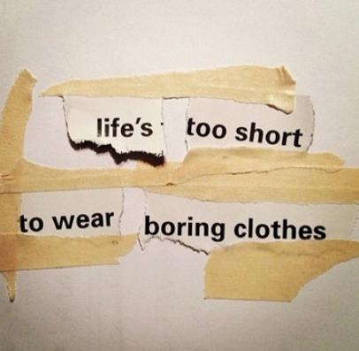 Boring Clothes