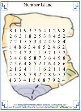 19+ Math worksheets island Images