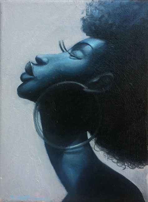 4b6b739df 30 Stunning Black woman Paintings and Illustrations by Frank ...
