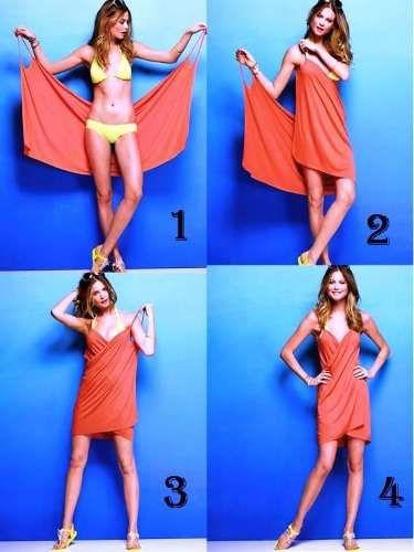 df49b6d8 pareo vestido multiuso multialle remera jean pollera bikini | Sewing ...
