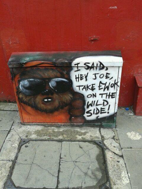 Take ewok on the wild side